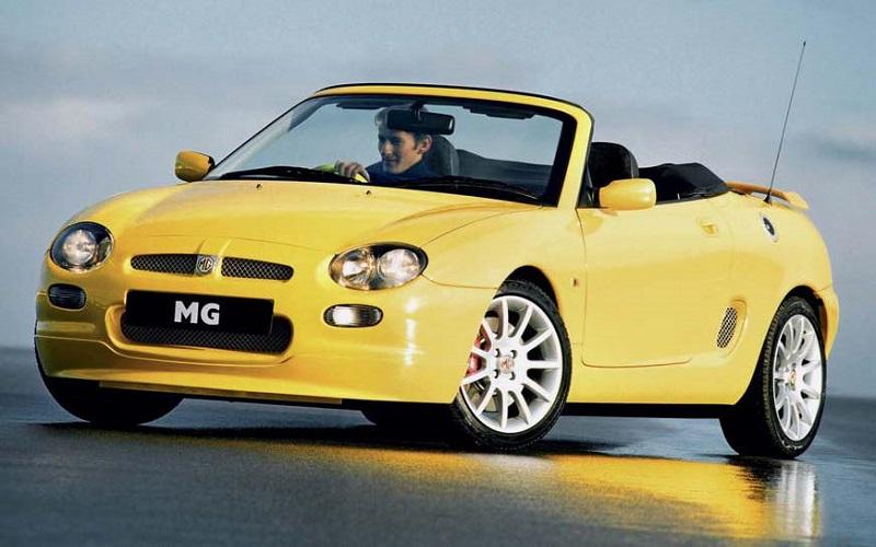 Der AUTO CLASSIC Investment-Tipp: der MG F der MG Rover Group