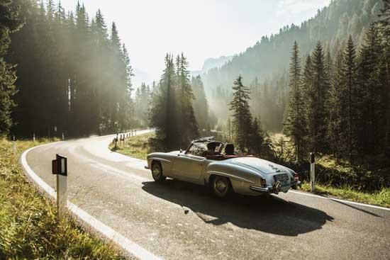 Zeitreise mit Genussgarantie: ADAC Classic Trentino 2016