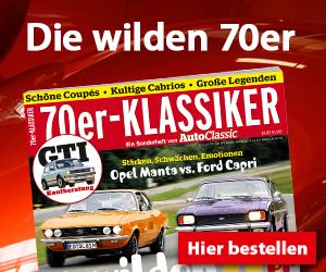 70er Klassiker: Schöne Coupes, kultige Cabrios, große Legenden