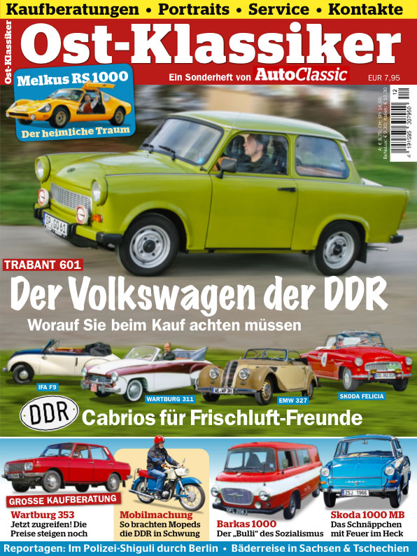 AUTO CLASSIC SPECIAL: Ostklassiker