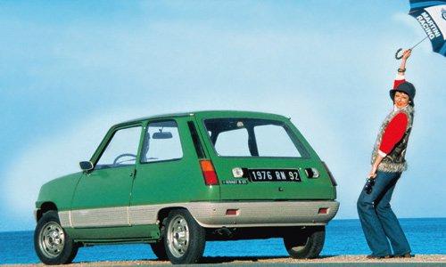 Keine Angst vor kleinen Remplern: Ab 1976 bekam der Renault 5 rundherum einen Flankenschutz.