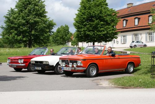 BMW 1602 Baur Vollcabrio, Chevrolet Corvair, Peugeot 504