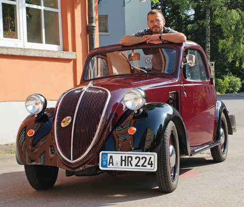 Fiat 500 Topolino Baujahr 1937 Komplett Restauriert Auto Classic Magazin