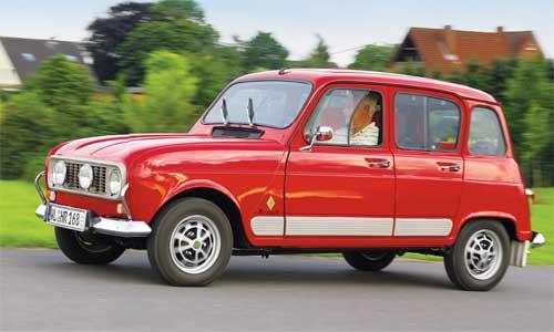 Quadratisch, praktisch, zeitlos: Die Form des Renault 4 hat sich in über 30 Jahren Bauzeit nur in Details verändert.Fotos: Peter Böhlke, Renault Deutschland AG