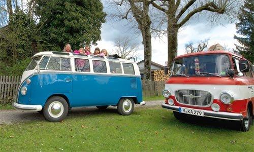 Während der VW-Bus im Westen ständig verbessert wurde, blieb der Barkas bis 1989 fast unverändert.