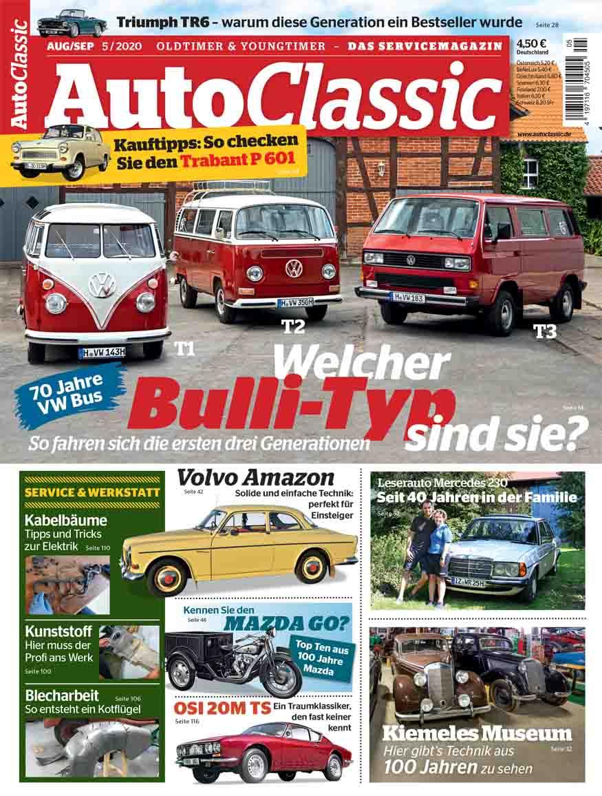70 Jahre VW Bus: Welcher Bulli-Typ sind Sie? - So fahren sich die ersten drei Generationen