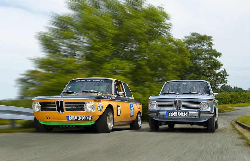Extremer Rallye- Sportler und Alltagstaugliche Sportlimousine: BMW Alpina A2 und BMW 1802