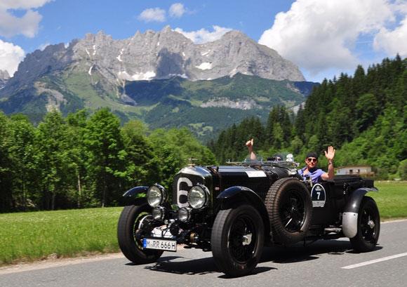 Die schönsten Classic Cars im Herz der Alpen