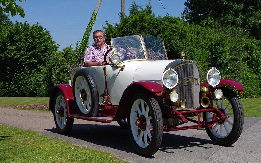 Wiederbelebter Veteran von 1916: Der restaurierte Opel 6/16 von Werner Hüppe