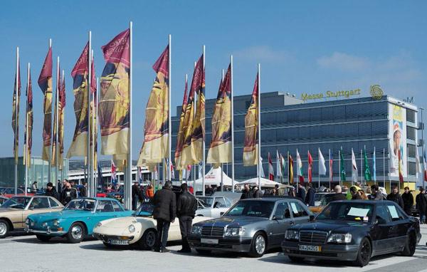 Oldtimer-Messen 2017: Retro Classics 2017 mit vergrößerter Fahrzeugverkaufsbörse