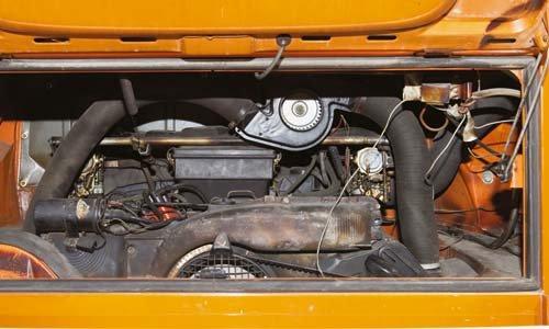 Kraftraum: Flachboxer mit 1,6–2 Litern Hubraum und 47–70 PS sorgen ...
