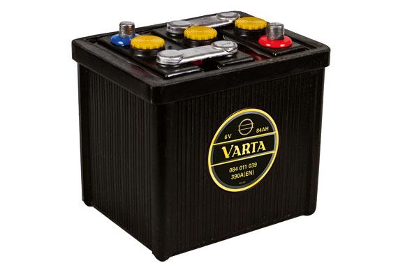VARTA Classic-Batterie für Oldtimer-Liebhaber