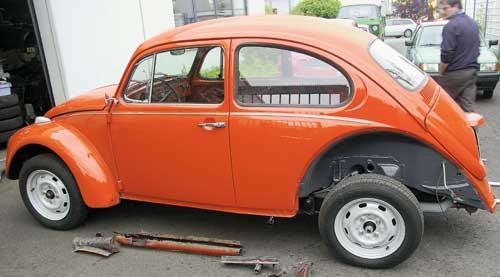 Der Käfer war bis 2002 das meistverkaufte Automobil der Welt
