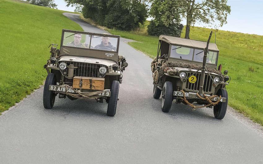 Urahn aller Geländewagen: Der Willys Jeep MB